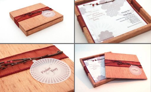 Boxed Wedding Invitations Examples