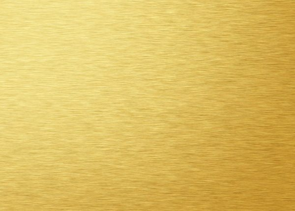 Brushed Gold Metal Foil Texture