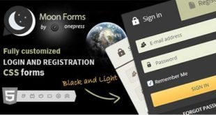 CSS Signup Moon Forms Login Registration 310x165