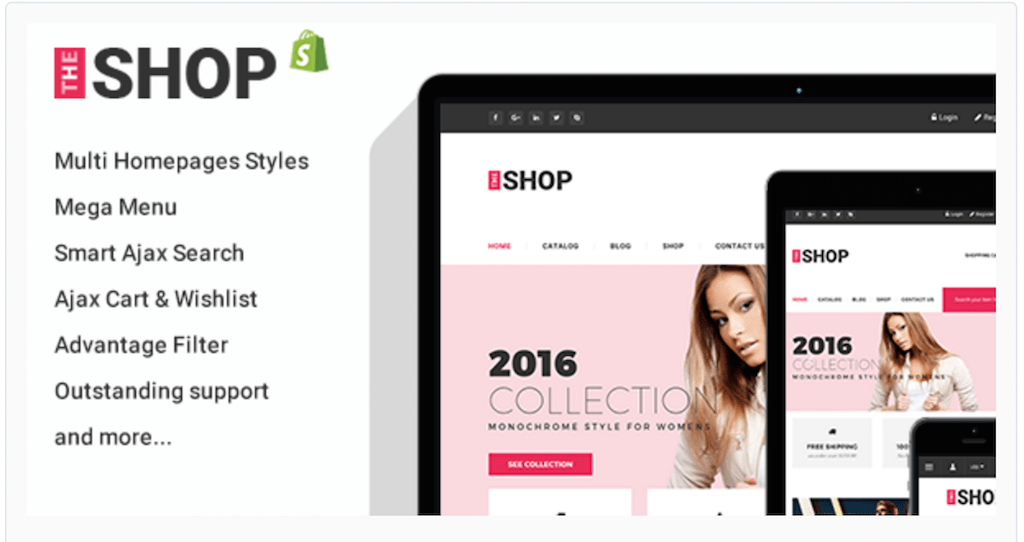 Clothing Fashion Shopify Theme