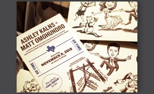 Comical Wedding Invitations Examples