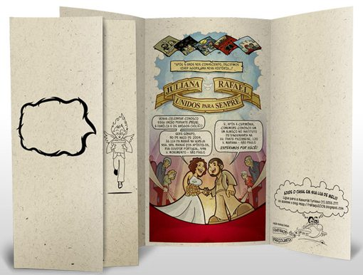 Comical Wedding Invitations Ideas