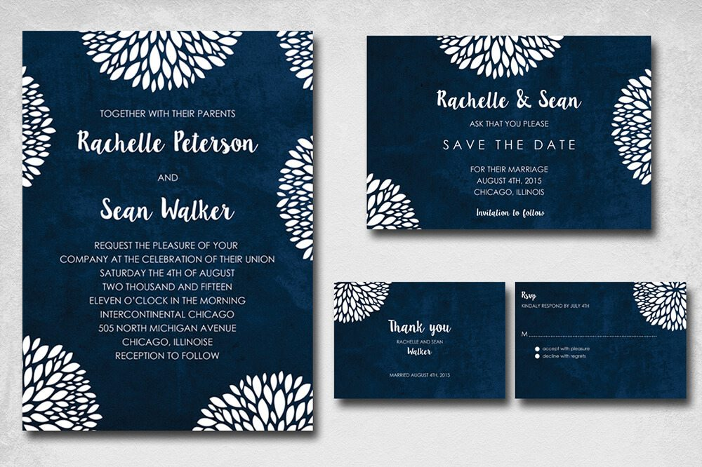 Elegant Wedding Invitations Ideas