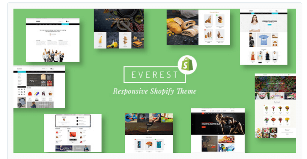 Everest Responsive Shopify Themes