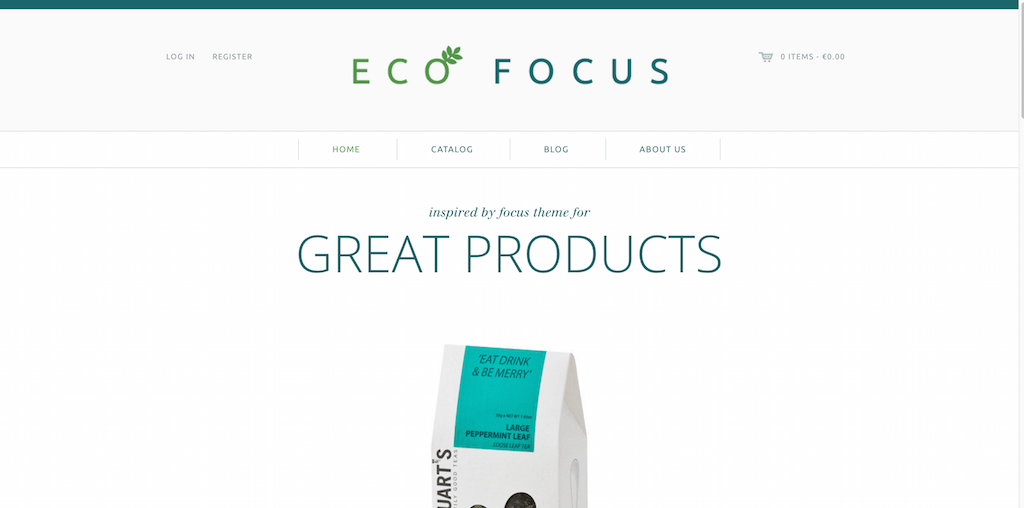Focus Shopify Themes for online stores