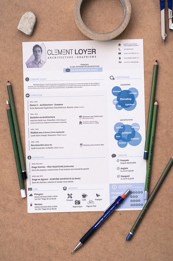 Freebie 2015 Indesign Resume Templates
