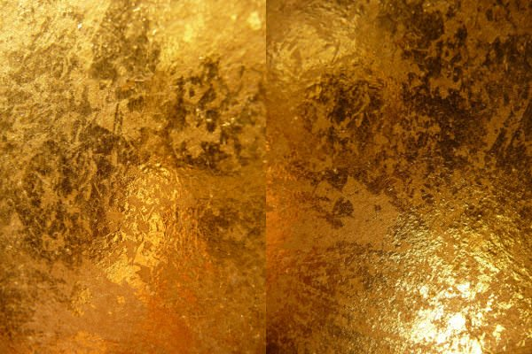 High Res Shiny Gold Metallic Texture