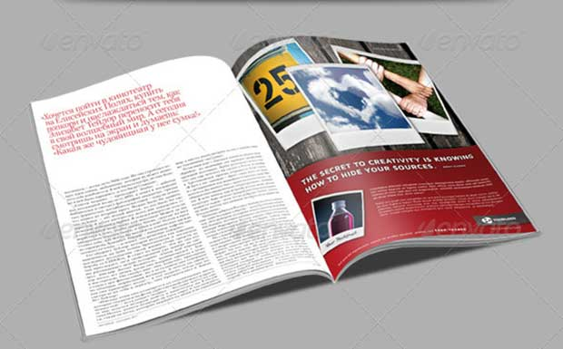 Magazine AD Templates