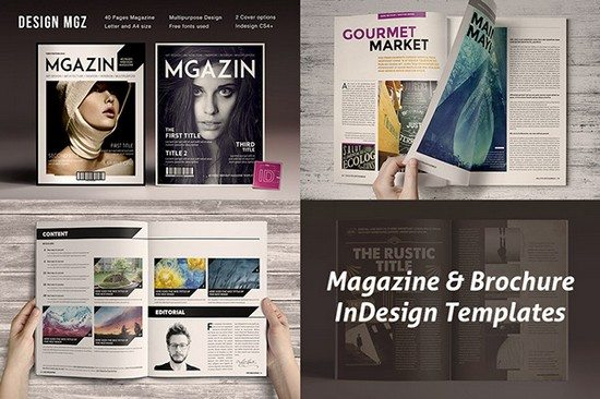 Magazine InDesign Templates free download