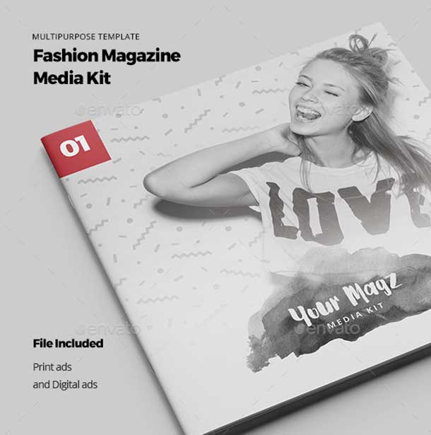 Magazine Media Kit free download