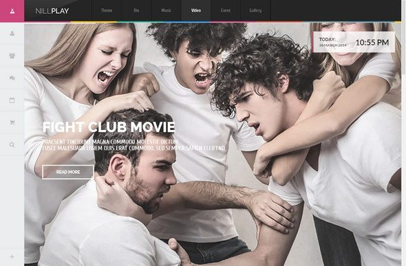Nill Play Video WordPress Theme