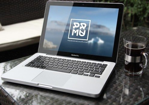 PSD Mabook Mockup Download