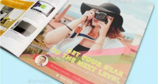 Photography Magazine Advertisement Mockup 310x165