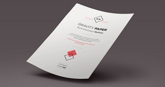 Psd A4 Paper Mock Up Templates