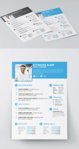 Resume cv business card indesign resume templates resume cv business card indesign resume templates wajeb Images