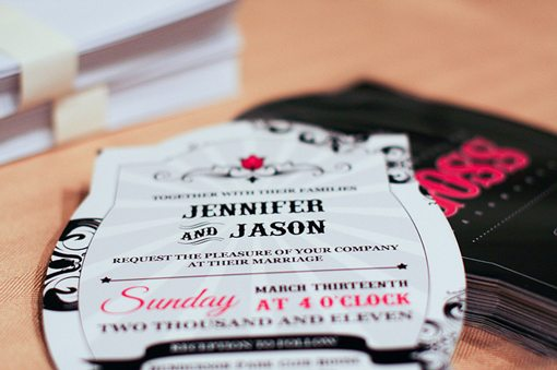 Simple Wedding Invitations Examples Ideas