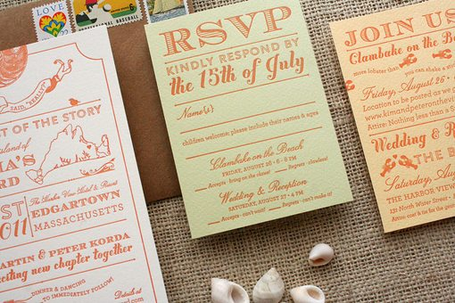 Simple Wedding Invitations cards