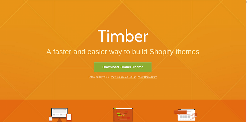 Timber 1 Shopify Themes