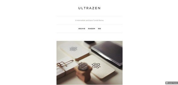 UltraZen tumblr themes