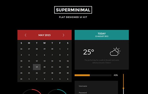 Unique HTML5 CSS3 Ui Kits