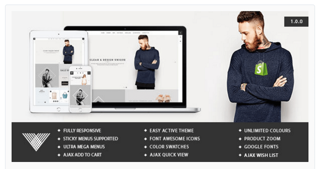 Best Responsive Shopify Themes For Your Online Store - Shopify product template
