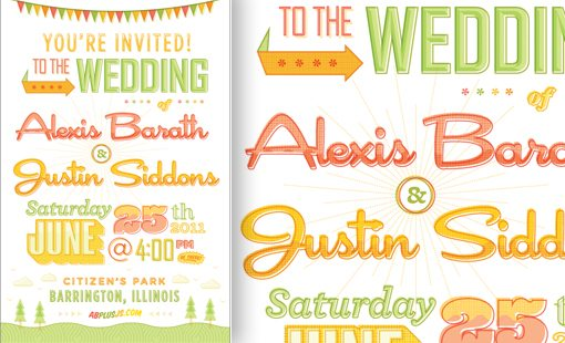adorable Wedding Invitations Examples