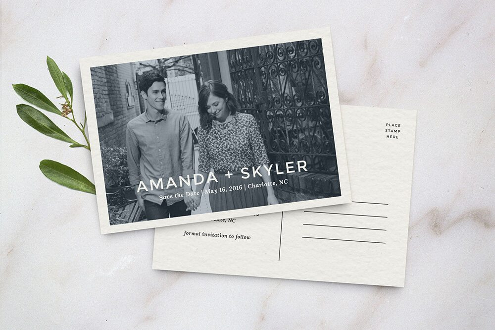 amanda_savedate Wedding Invitations Examples