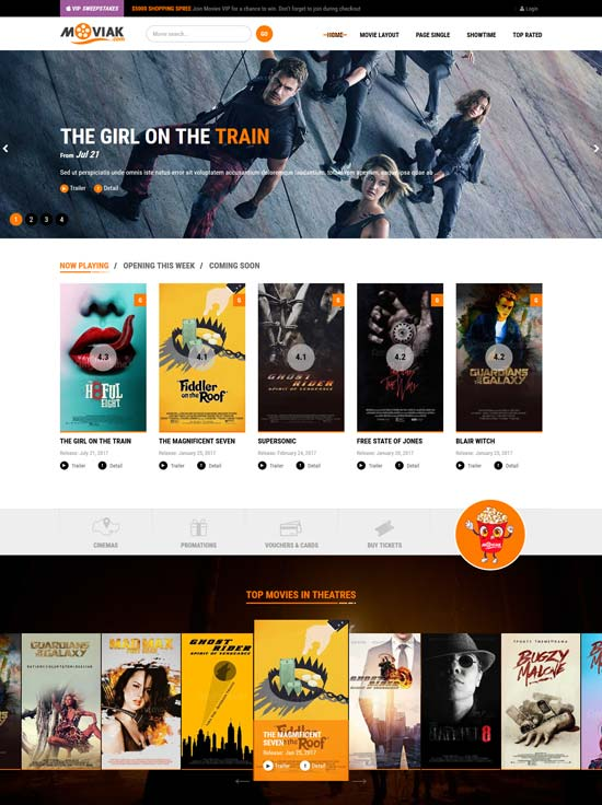 amymovie Video WordPress Theme