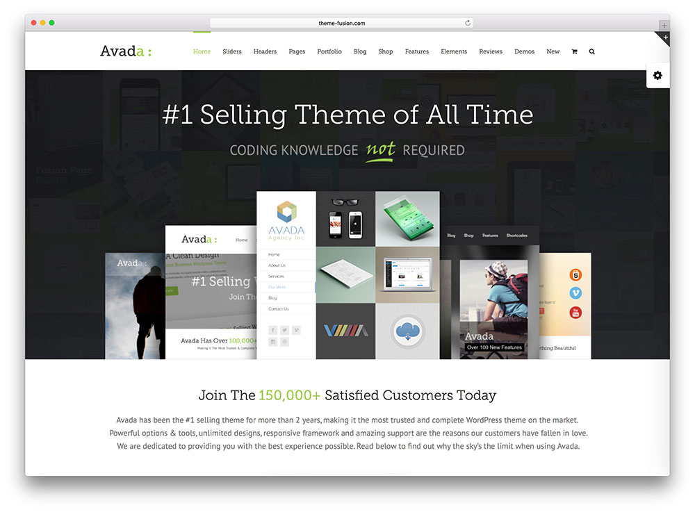 avada Insurance WordPress Theme