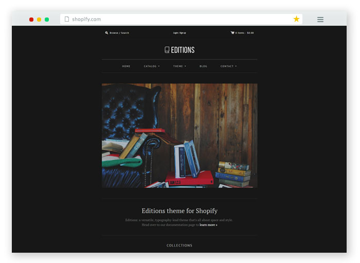 bookstore Shopify Theme