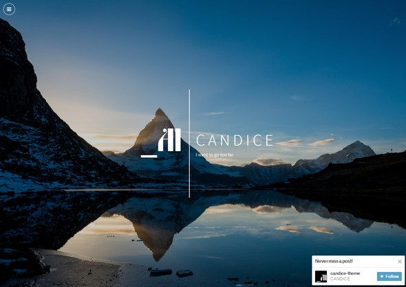 candiceresponsive tumblr theme