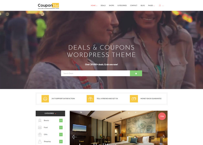 couponhut Affiliate Marketing WP Themes