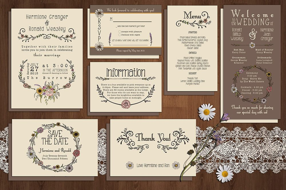custom invitation illustration Ideas