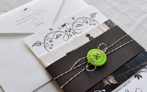 cute Wedding Invitations Examples Ideas