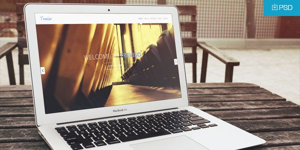 PSD Apple MacBook