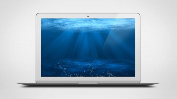 download MacBook Air PSD Mock Up Template