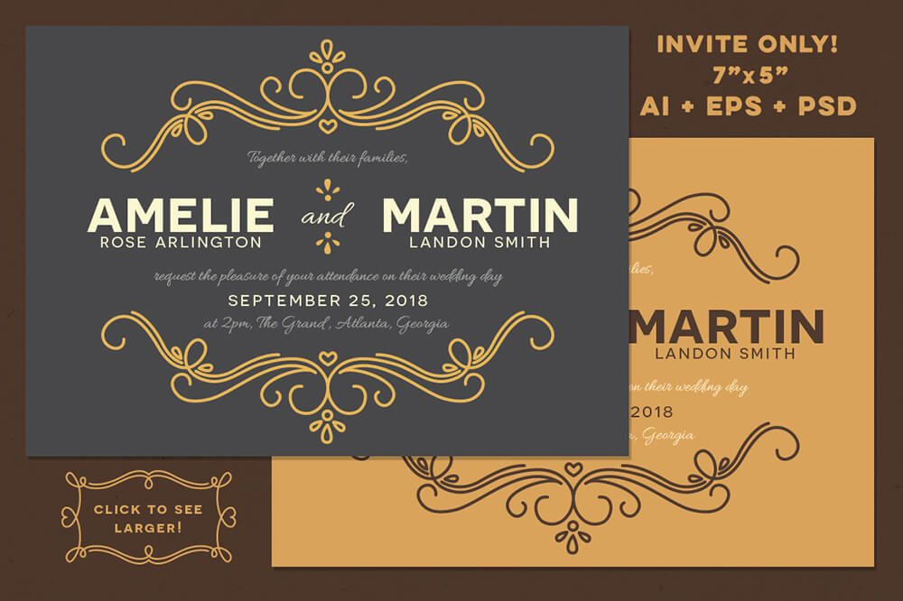 fairytale Wedding Invitations Examples Ideas
