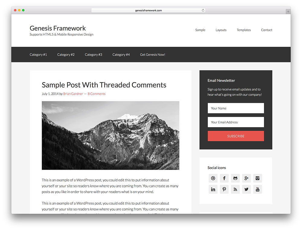 genesis framework Affiliate Marketing WP Themes