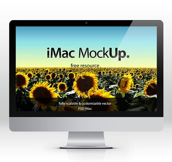 imac iMac Mockup download