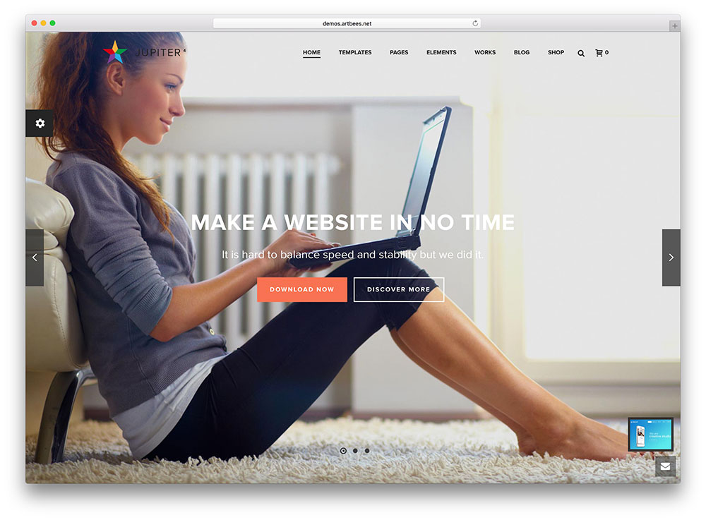jupiter Insurance WordPress Theme