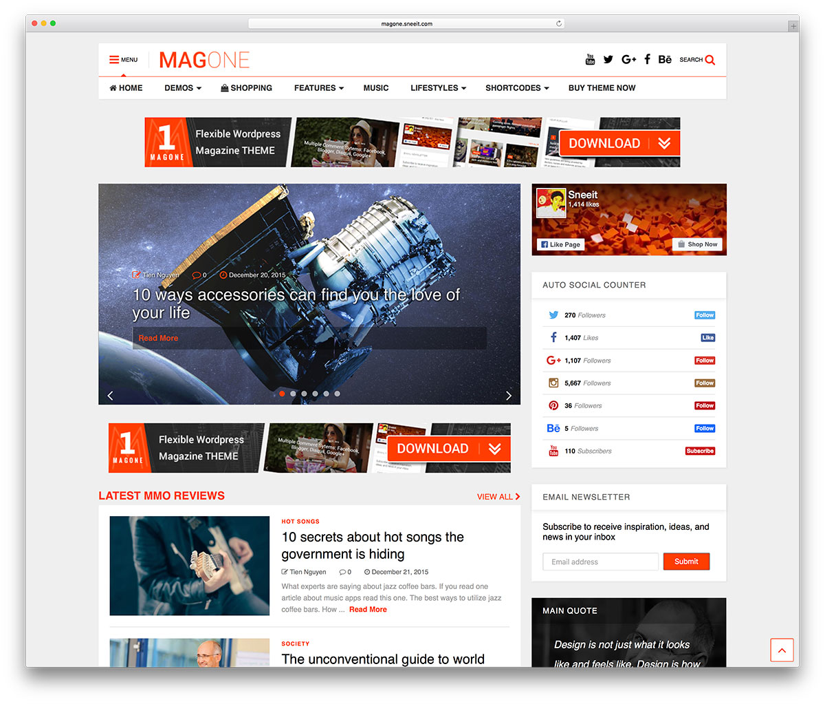 magone Affiliate Marketing WP Themes