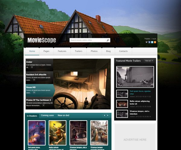 moviescope Video WordPress Theme