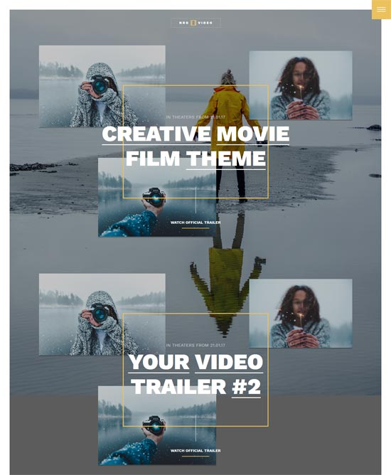 nrgvideo Theme for Movies Database