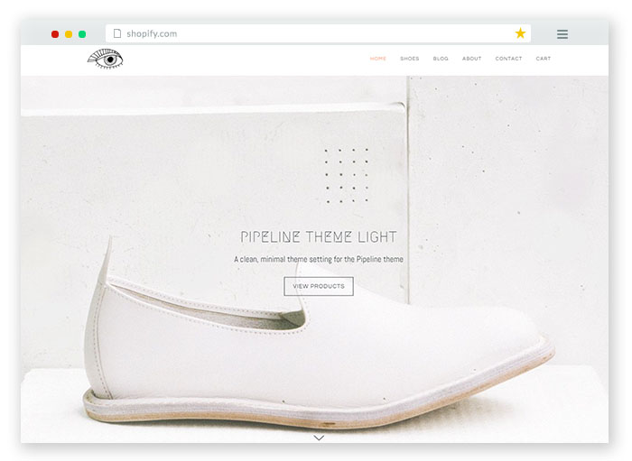 pipeline fashion Responsive Shopify Theme