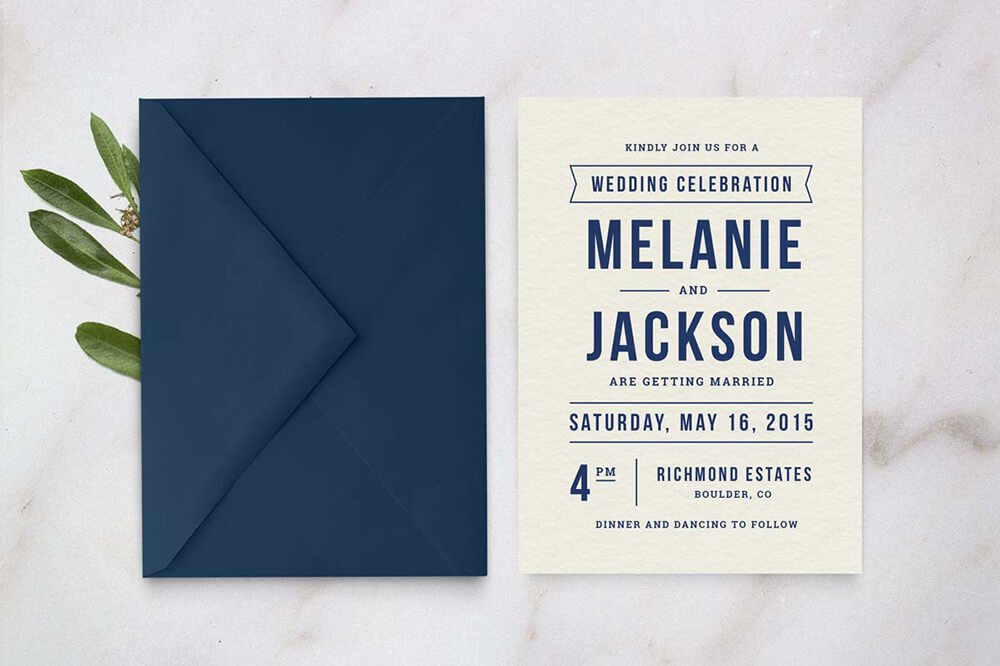 pretty Wedding Invitations Examples Ideas