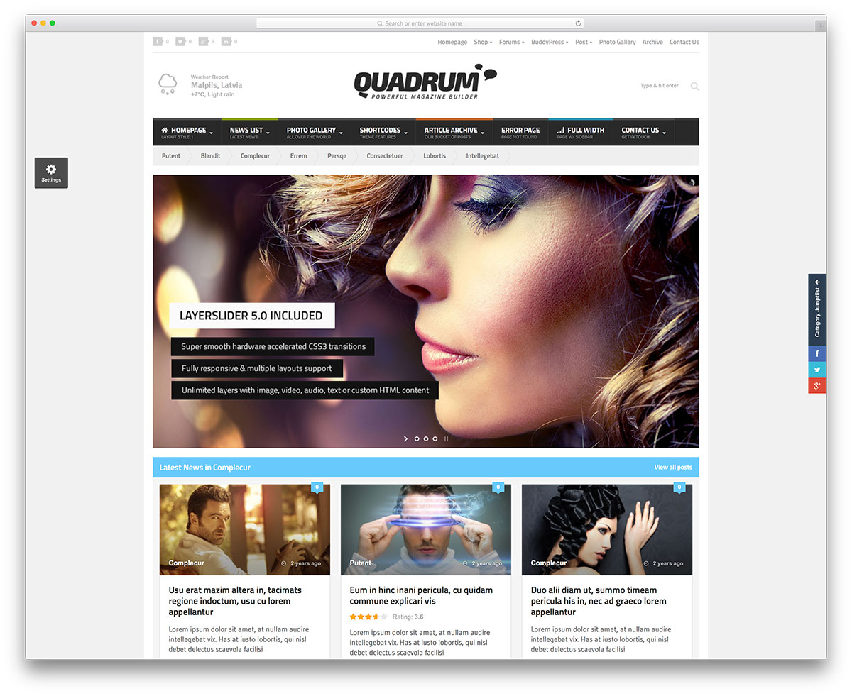 quadrum classic Affiliate Marketing WP Themes