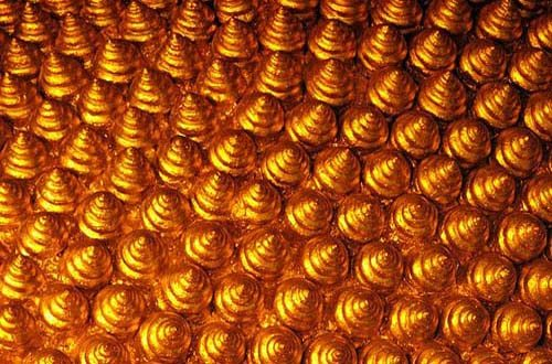 shiny gold textures
