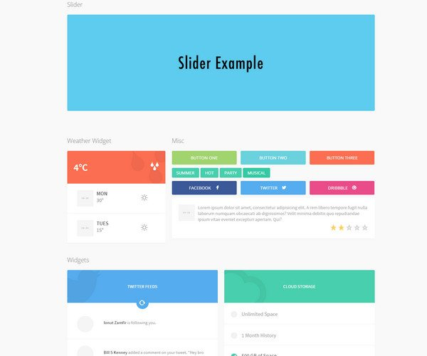 slider ui kit