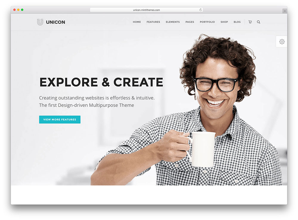 unicon beautiful Insurance WordPress Theme