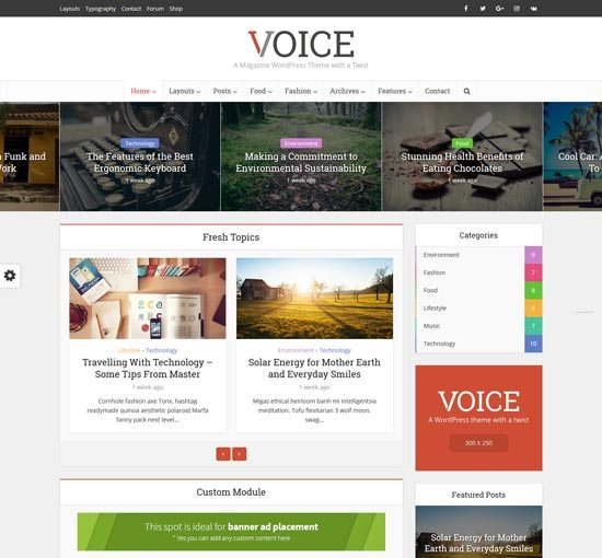 vlog Video WordPress Theme